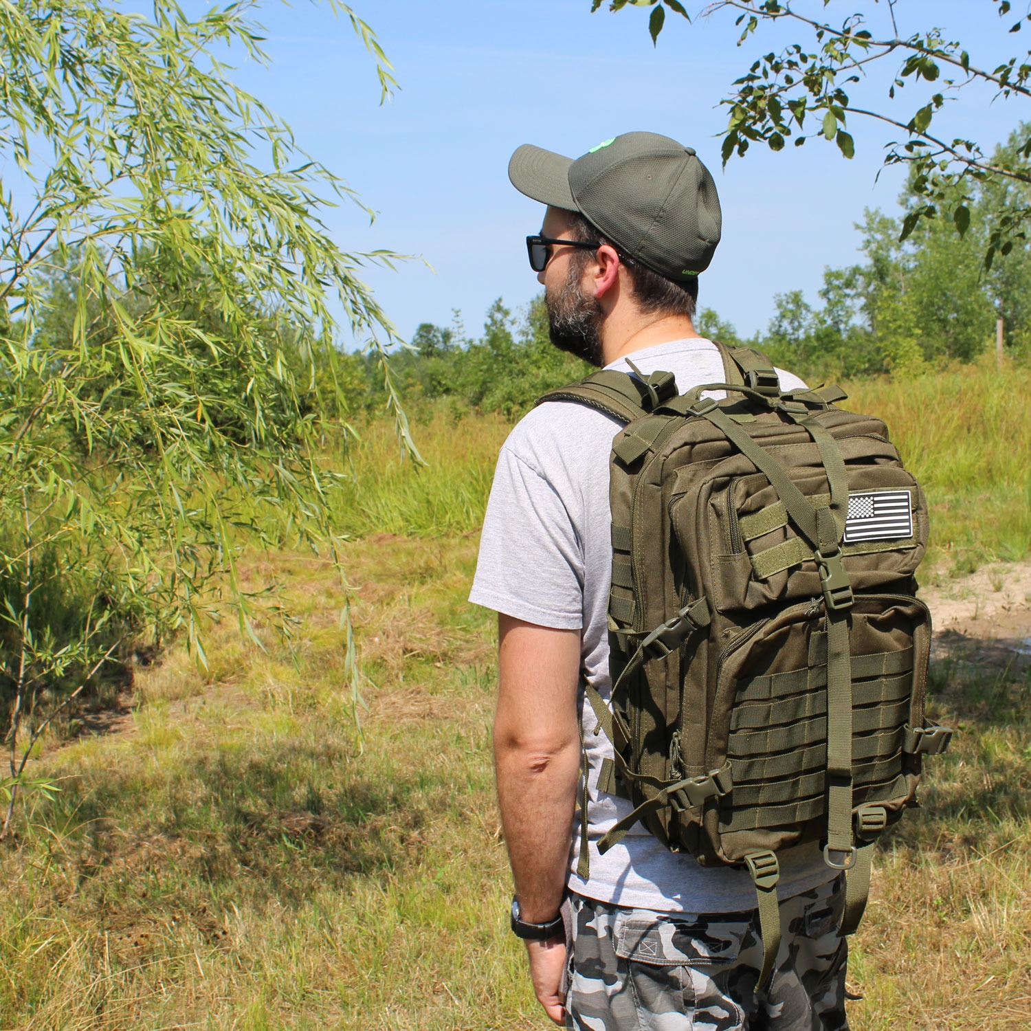 50L Expeditionary Tactical Backpack Tan